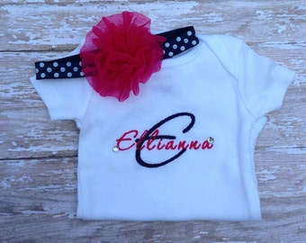 Monogrammed Applique  Shirt
