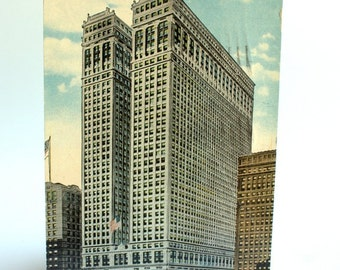 New York City Vintage Postcard - NYC Postcards - of the Equitable Building in NYC Color Postcard American Ephemera, Old Postcards