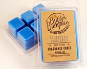 Blueberry Pancakes Scented Wax Cubes - Maximum Fragrance Wax Melts - Authentic Yummy Blueberries & Pancake Aroma Candle Tart Melt