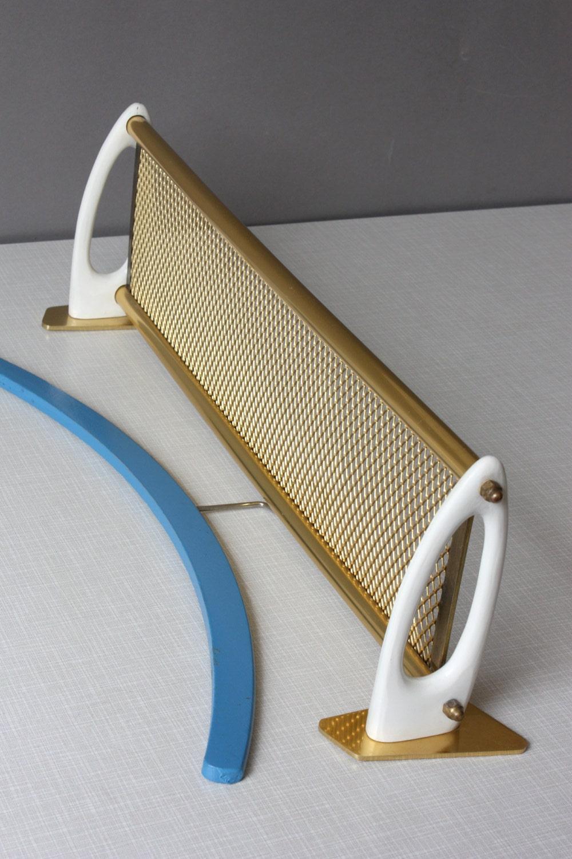 small wall shelf 50s 60s vintage tray metal mesh mid. Black Bedroom Furniture Sets. Home Design Ideas