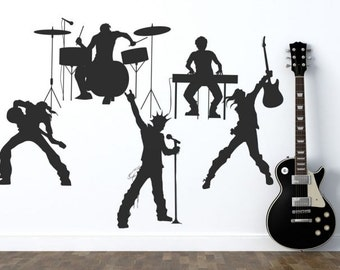 Wall decal THE BAND wall stickers for kids room, teen rooms, vinyl decal, vinyl stickers, wall decals for boys