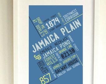 JAMAICA PLAIN // Art Print