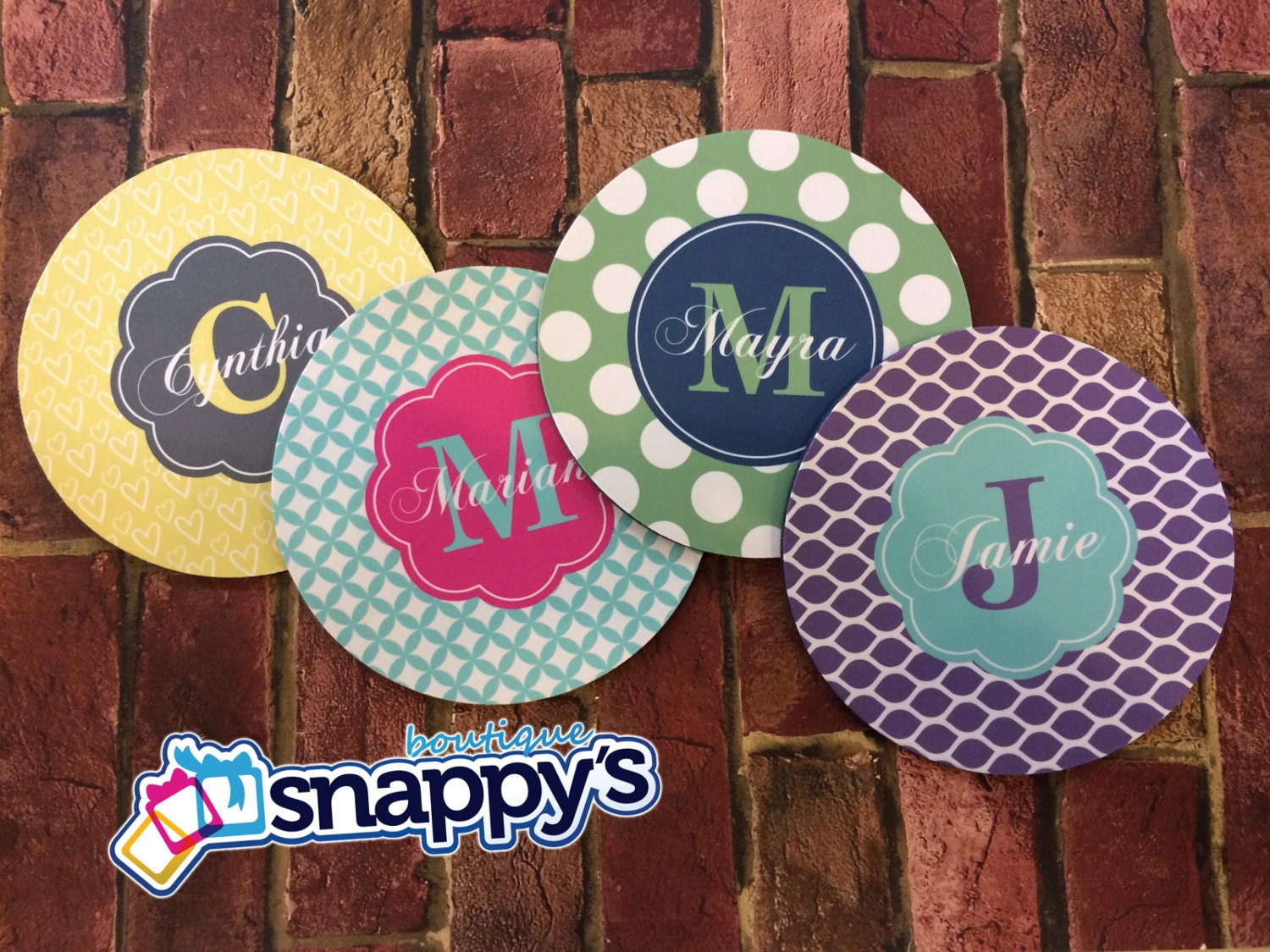 mouse pads snappy s boutique