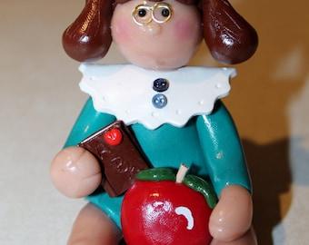Teacher figurine Teacher miniature