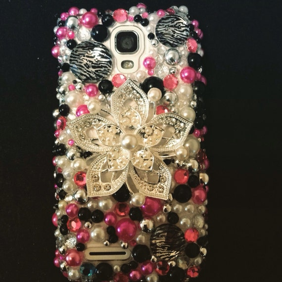 Girly bling cell phone case
