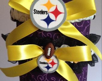 Pittsburgh Steelers Inspired Garter Set