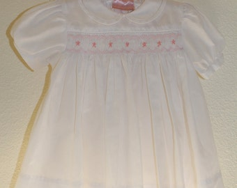 Vintage Baby Dress Yellow Little Diana Dress By