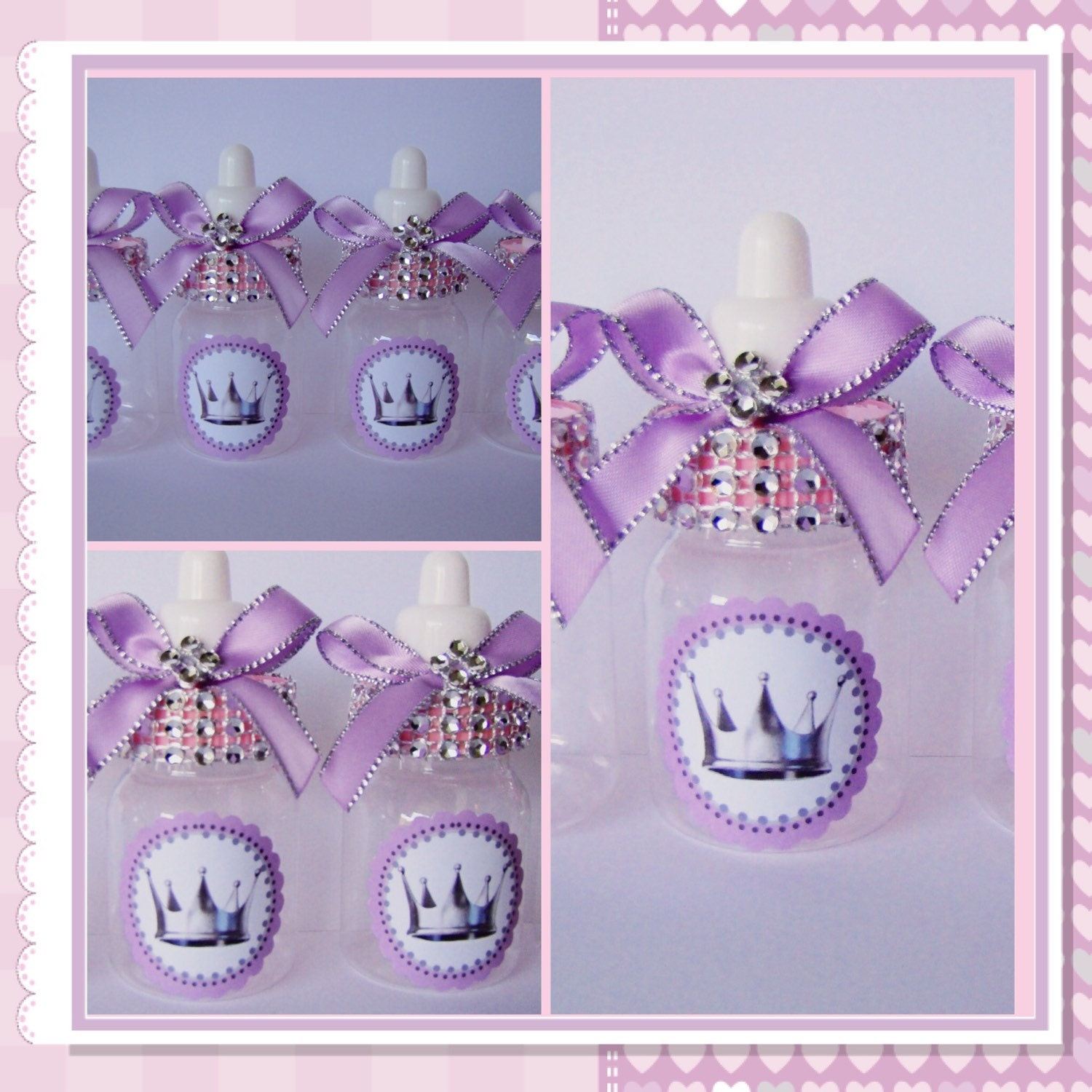 12 Little Princess Baby Shower Favors By Marshmallowfavors