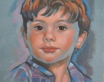 Oil Portrait commission