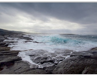 Stormy Sea, Beach Photos, Fine Art photography, Stormy Sea Print, Australian Beach Photo,Beach Photography,Wild Sea Photography,Storm Photos