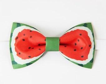 Handmade Watermelon Bowtie bow tie