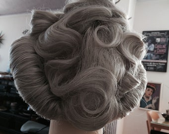 Lace Front Mrs Doubtfire Wig Ready For Stage Very Fancy