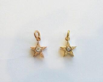 Hawaiian Jewelry 14K Gold Hawaiian Hoku Pendant (LBP0905pg/yg)