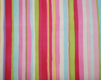 Free Spirit - Fuchsia Pink Stripe - Cotton Woven Fabric