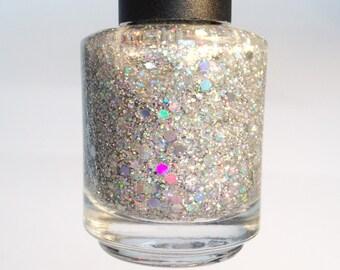 Wishing on a Star Glittah Nailz Glitter Nail Polish