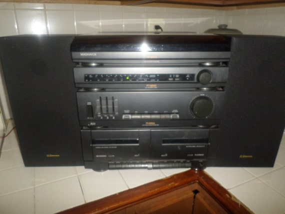 Early 1990 S Magnavox As3 Home Stereo System Record Player