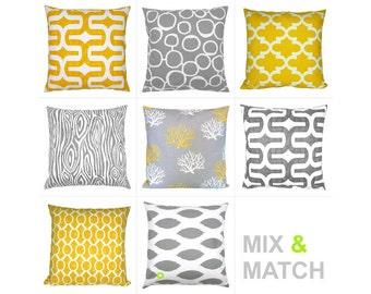 1 Cushion cover 40 x 40 cm grey white Ikat CHIPPER