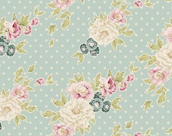 TILDA - Cybill Powder Blue - 1/2 yard