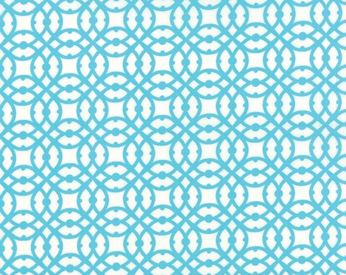 Paradiso by Kate Spain - Destination Pearl Blue - 1/2yd