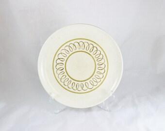 Metlox Poppytrail Golden Scroll Dinner Plate