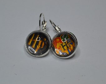 Harry Potter Hogwarts earrings
