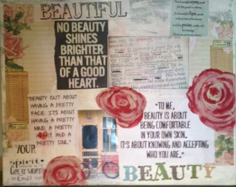 Word Collage of Beauty