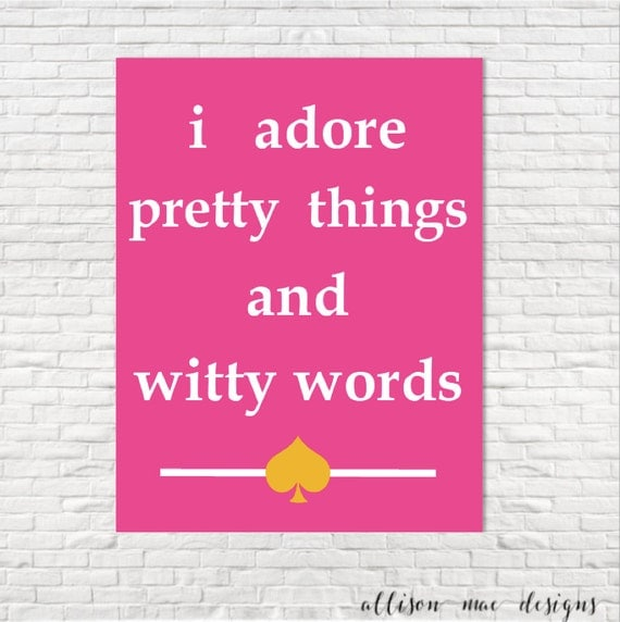 I Adore Pretty Things And Witty Words Kate Spade I Adore Pretty Things ...