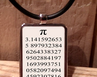 Pi Maths Necklace