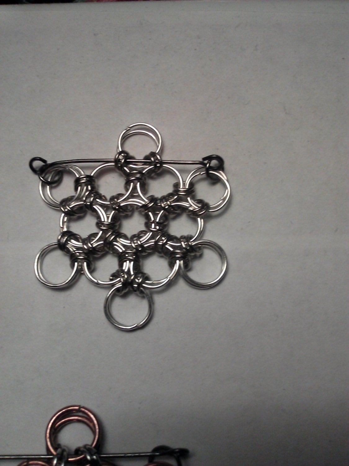 Chainmail Snowflakes Christmas Ornaments Made To Order Buy 1 for 8.00, 3 for 21.00, 8 for 48.00, or 12 for 84.00 Choose your colors