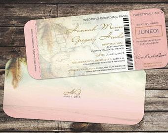 Passport Wedding Invitation Booklets Real Passport Style
