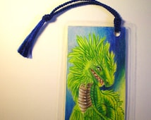 Hand Drawn Quetzalcoatl Bookmark