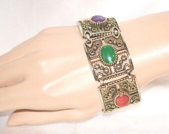 Vintage Signed Sarah Coventry Granada Bracelet