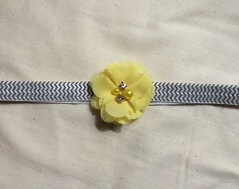 Adult Sized Flower Headband 17 inches