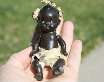 Bylo Type 4 inch Black Baby Doll