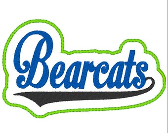 Bearcats Headband Slip'em Instant Download
