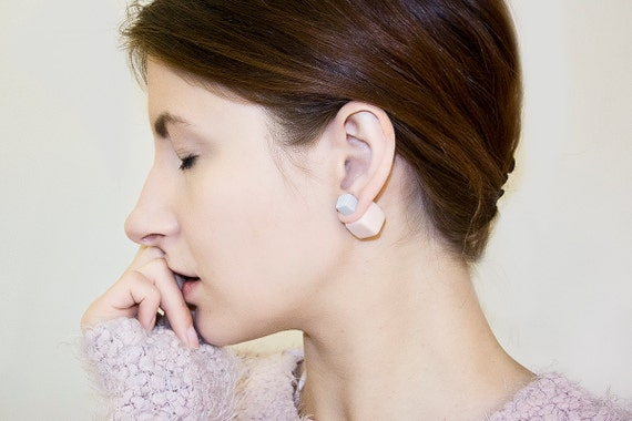 Boucles d'oreilles perles tribales