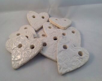 10 harts of white gresclay