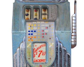 Buckley Original 1930s Art Deco 5c Slot Machine -Rare