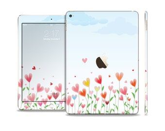 The Field of Blooming Hearts Skin Set for the Apple iPad (All Models Available)