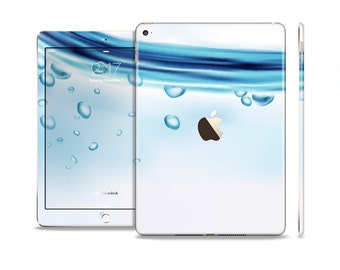 The Vivid Water Layers Skin Set for the Apple iPad (All Models Available)