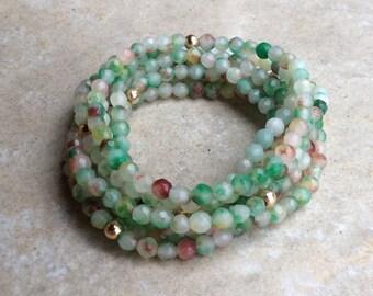 Candy Jade Stretchy Bracelets