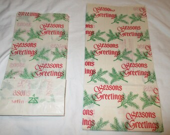 Season's Greetings Party Bags