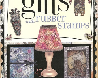 Making Gifts with Rubber Stamps - Paperback Book, 2000 by Sandra McCall - 25 Projects