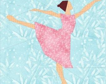 Ballerina- A 14 Inch Paper Pieced Pattern