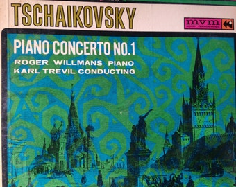 Tschaikovsky - Piano Concierto No 1- Roger Williams Piano   - vinyl record