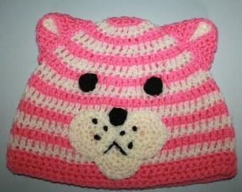 Bagpuss Hand Crocheted Hat