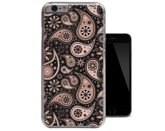 Rose Paisley Floral iPhone 6 Case iPhone 5c case / iPhone 5 5s case / iPhone 4 4s case (A185)