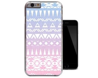 Ombre Tribal Blue Navajo Pink Aztec iPhone 6 Case iPhone 5 5s Case iPhone 5c iPhone 4 4s Case (A236)