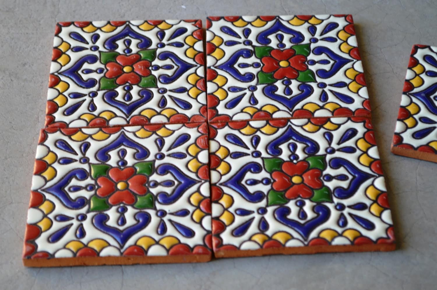 Hand Painted Kitchen Tiles Ireland