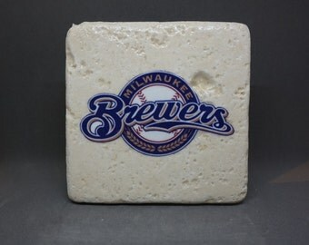 Milwaukee Brewers Coaster (4-Pack)